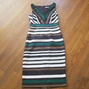 "Eva Mendes ""Kate"" striped sheath dress"